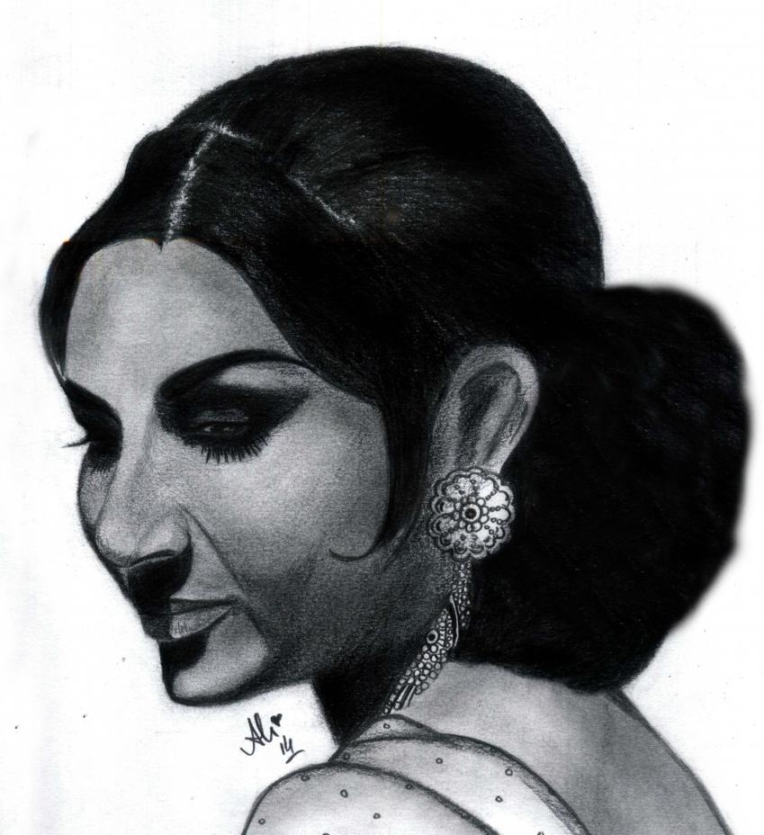 Sharmila Tagore by bobbydar01@gmail.com